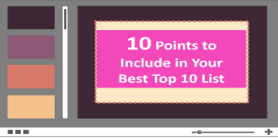 Grab Your Best Top 10 List Tips Infographic Now.